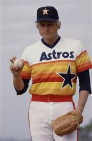 Joe Niekro won 144 of his 221 career victories with the Houston Astros. He finished second in the 1979 Cy Young Award voting.