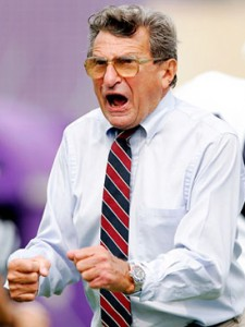 Joe Paterno is still going strong at 82 years old.