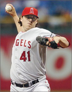 John Lackey will start the series opener for the Angels.