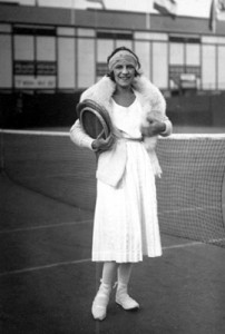 "Lenglen paved the way for the ""Divas"" of today."