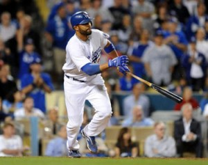 Matt Kemp has emerged as an offensive weapon for the Dodgers.