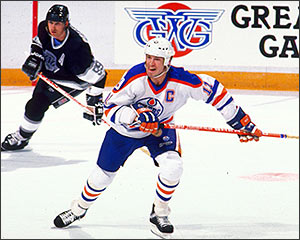 Mark Messier replaced Gretzky as the captain of the Oilers.