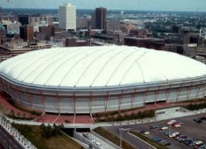 The Metrodome has been home to the Minnesota Twins since 1982.