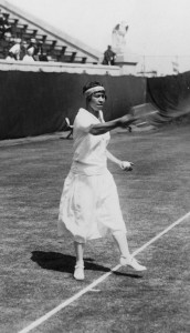 Molla Mallory won eight straight U.S. women's singles titles.