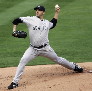 Andy Pettitte will look to add to his post season in game three.