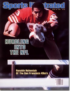 Renaldo Nehemiah did win a Super Bowl with the 49ers, but caught just 43 passes in three years.