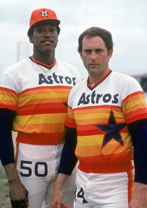 Two of the best strikeout pitchers of their era, J.R. Richard and Nolan Ryan were teammates for half a season before Richard's career ended suddenly.