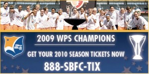 Sky Blue FC hopes to improve their attendance after winnng the WPS crown last season.