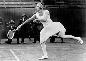 "Suzanne Lenglen paved the way for the modern ""Divas""."