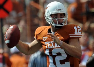 Colt McCoy and the Longhorns can show their stuff over the next three weeks against top 25 opponents.