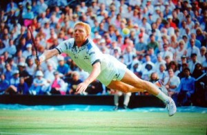 Boris Becker exploded on the scene at the 1985 Wimbledon Championships.