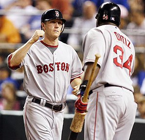 Jason Bay has been the top offensive threat for the Red Sox this season.