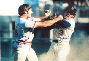 For many fans, the most lasting memory of the 1973 playoffs was the fight between Bud Harrelson and Pete Rose.