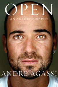 Andre Agassi uses his new book, Open, as a chance to purge his past and look toward the future.