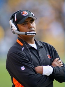 Marvin Lewis and the Cincinnati Bengals have turned the tables on the AFC North this season.