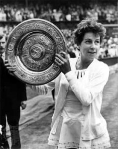 Bueno won the Wimbledon singles title three times and the doubles crown five times.