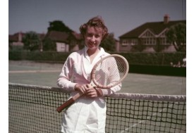 Known as Little Mo, Connolly was 16-years-old when she won the U.S. Championship for the first time in 1951.