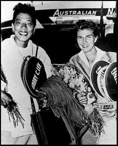 A graduate of Florida A&M, Gibson lost twice in the final of a Grand Slam and both losses were to Shirley Fry, a graduate of another Florida School, Rollins College.