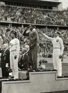 Owens won four gold medals at the 1936 Olympics.