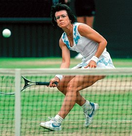 Billie Jean King won 39 Grand Slam titles, including 12 singles titles.