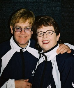 "Elton John's song ""Philadelphia Freedom"" was written as a tribute to Billie Jean King."