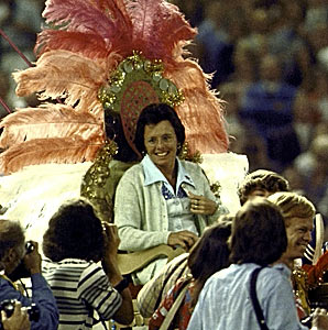 Women's Professional Tenni is what it is today thanks to Billie Jean King
