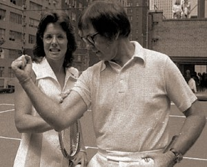 King's straight set victory over Bobby Riggs was watched by more than 50 million people.