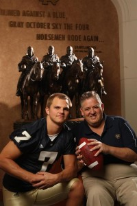 Could this be the last season at Notre Dame for both Charlie Weis and Jimmy Clausen?