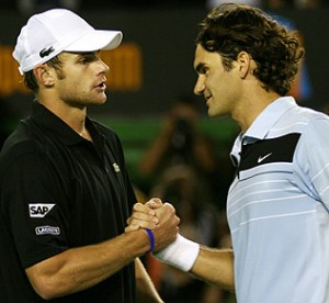 Roger Clearly at the top of his game, Roger Federer made short work of Andy Roddick in the 2007 Australian Open.