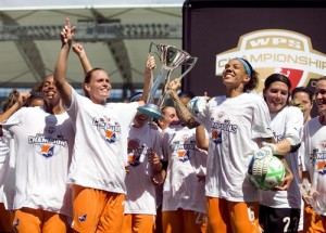 The consumate underdog, in just a matter of weeks the Sky Blue FC went from last place to WPS Champions.