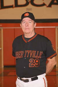 Coach Sternaman here as assistant baseball coach at Libertyville.