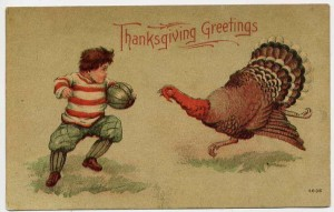 Football has been a Thanksgiving tradition for more than a century.
