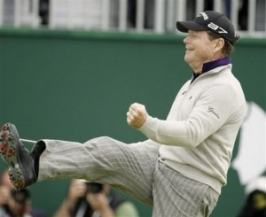 Tom Watson captivated the sports world with his run at the 2009 British Open.