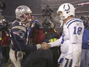 It's all about respect between the Patriots and Colts.