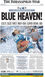 The Colts beat their demons and the Patriots in the 2006 AFC Championship game.