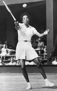 Althea Gibson was 14 when she took up the game of tennis and won her first Grand Slam title at age 28.