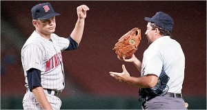 The Knuckler spun his craft for the Twins in 1987-88 before retiring at age 44.