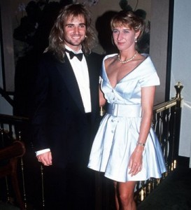 Graf and Andre Agassi first met at the 1992 Wimbledon when both were tournament champions. They began dating in 1999 and were married in 2001.