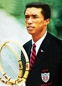 Ashe was named to the U.S. Davis Cup team in 1963 and later served as Captain.