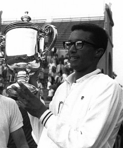 In 1968 Arthur Ashe won the U.S. Open and became the first African American to hold the number one ranking in men's tennis.