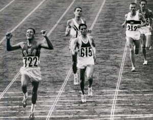 Billy Mills is the only American to win a gold medal in the 10,000 meter run.
