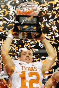 Colt McCoy and Texas won the Big 12 title, but not in the overwhelming fashion that most expected.