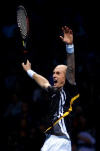The question for Davydenko in 2010 is whether he can contend in the Grand Slam tournaments.