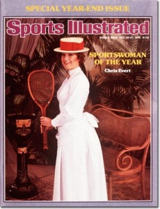 Evert's popularity transcended tennis in the 1970s.