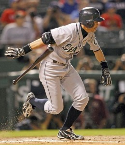 Ichiro Suzuki averaged 226 hits per season during the decade.