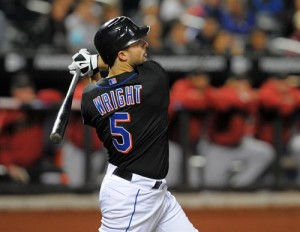 David Wright hit .307 in 2009, but his home run production fell from 33 to 10 and he did not drive in 100 runs for the first time in five years.