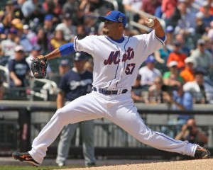 The Mets pitching staff would be fine if they could have Johan Santana start every game. He was 13-9 with a 3.13 ERA in 2009.