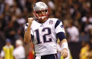 Tom Brady has won 77% of his games as a starting quarterback and won three Super Bowl titles.