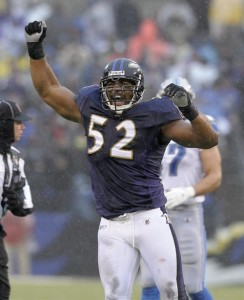 Ray Lewis has been the best defensive player of the decade.