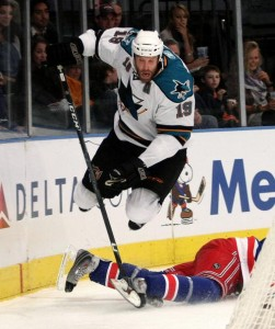 Joe Thornton was the leading scorer in the NHL in the decade.